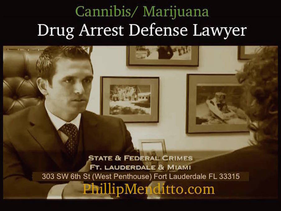 Broward drug crimes defense lawyer Phillip Menditto