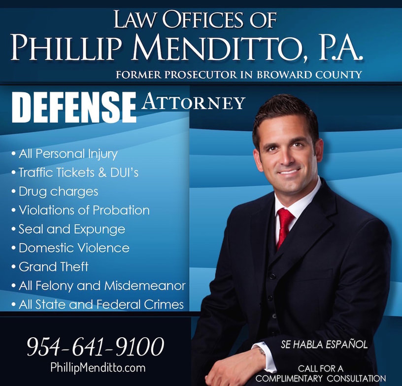 Broward Defense Attorney Phillip Menditto