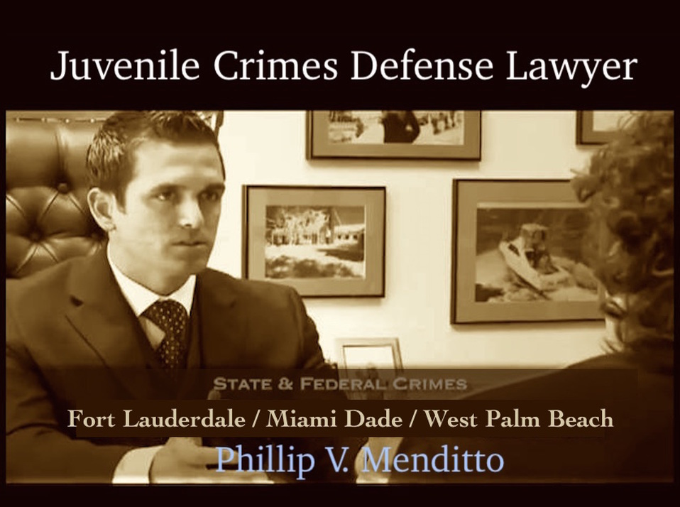 Juvenile crimes defense lawyer Broward County