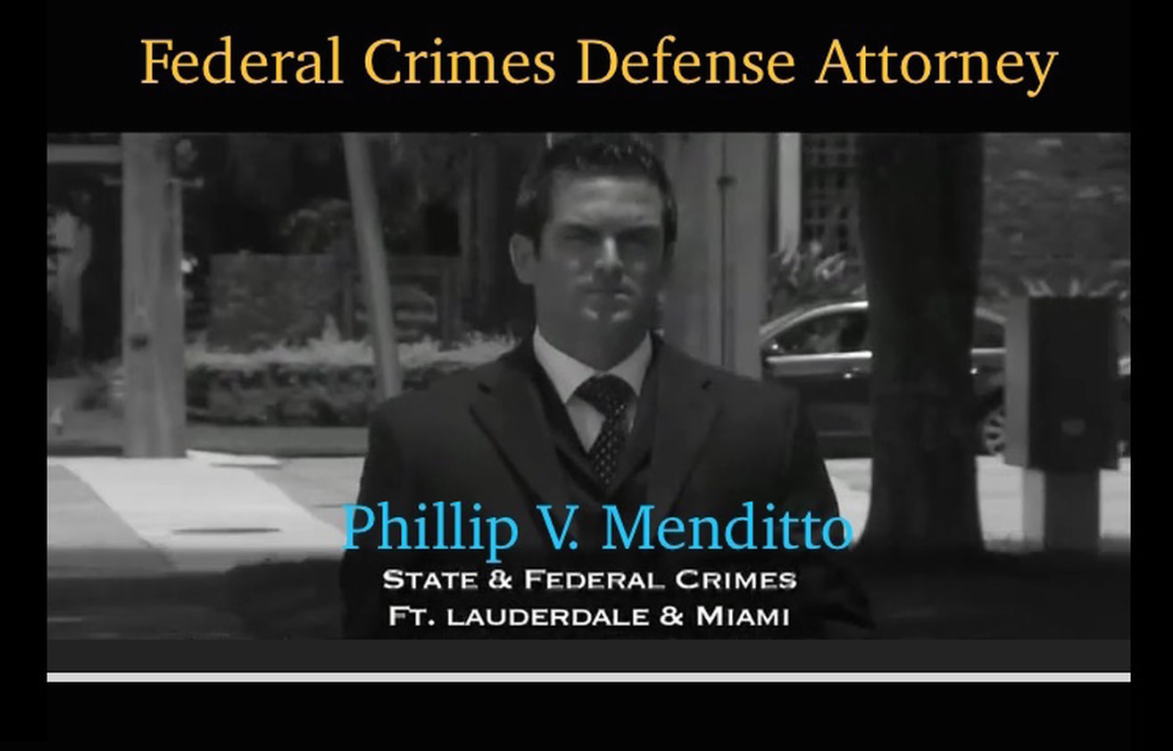 Fort Lauderdale Federal Crimes Defense Attorney